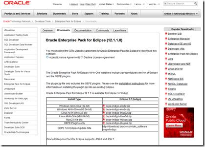 Weblogic weekly for december 12th, 2011: 12c released, oepe 12c.