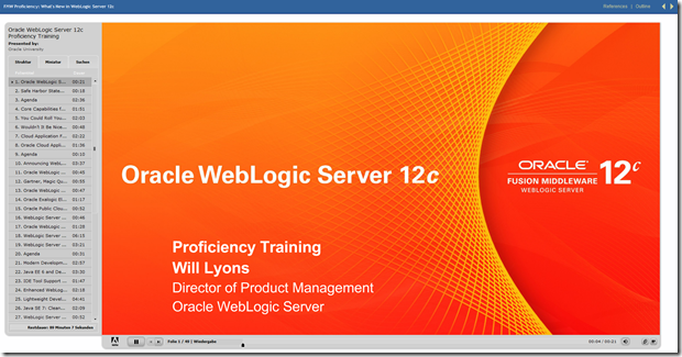 WebLogic 12c online training on-demand | Oracle WebLogic