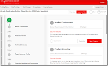 Application Builder Cloud Service free online training including