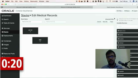 Video: Running WebLogic Applications on Docker using Oracle