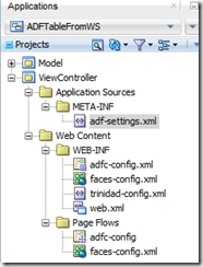 Populate select one choice using Web Service Data Control in ADF