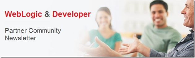 Weblogic newsletter banner