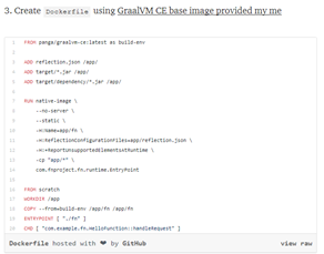 Serverless Native Java Functions using GraalVM and Fn