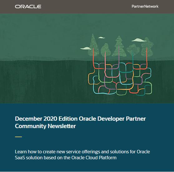 Developer Newsletter December small 2020