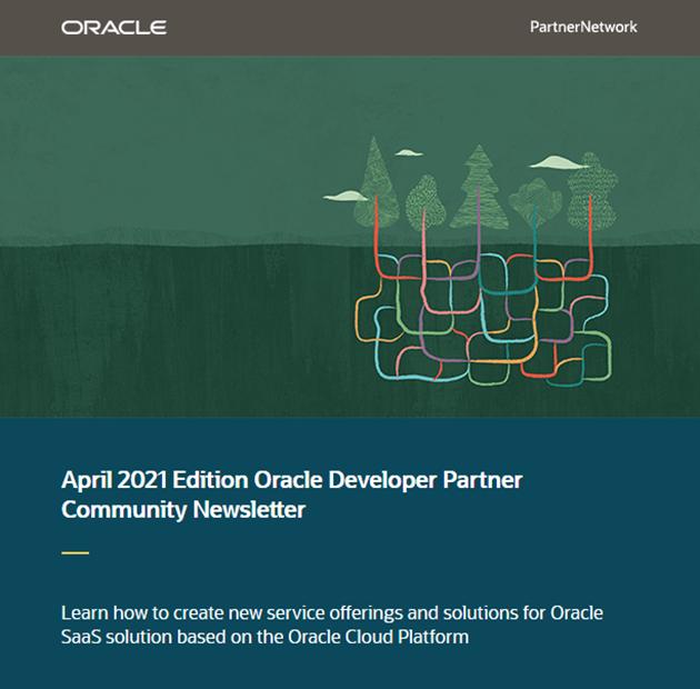 Developer Newsletter April 2021
