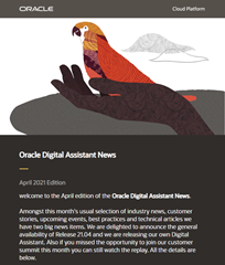 ODA Newsletter April 2021